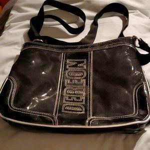 NWOT Black Dereon crossbody  bag